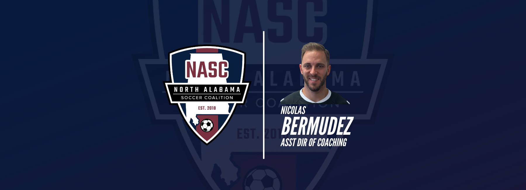 WELCOME COACH NICO BERMUDEZ TO NASC