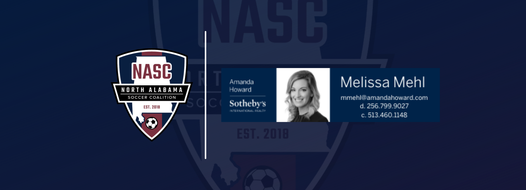 NASC PARTNERS WITH MELISSA MEHL